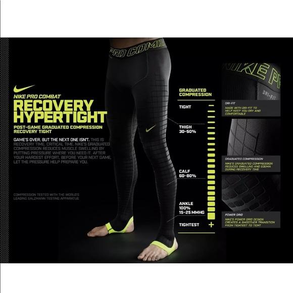 225a6301c7dfe Nike Pants | Mens Hypertight Pro Combat Recovery Tights | Poshmark